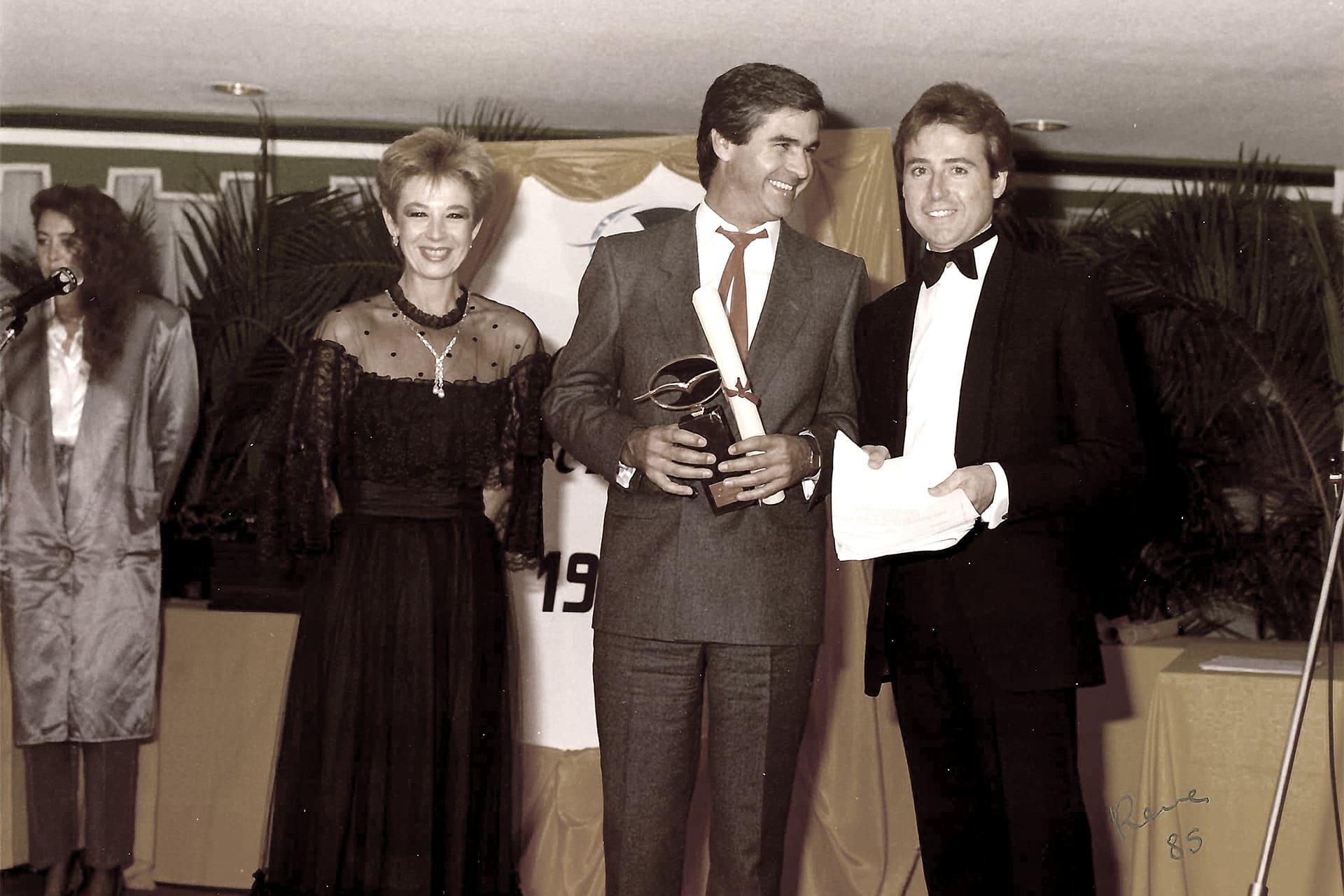 Entrega Óscar a la Popularidad, 1985.